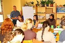 Workshop mladých lidí v Sázavě