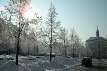 Počasí v Benešově na konci ledna.