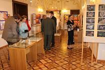 Výstava výtvarného oboru Základní umělecké školy Vlašim je aktuálně k vidění v prostorách vlašimského zámku až do 8. května.