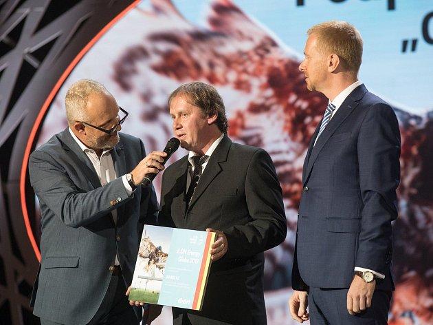 Slavnostní vyhlášení soutěže Eon Energy Globe.
