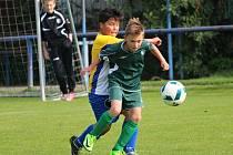 Okresní přebor mladších žáků: FK Kavalier Sázava - FK Čáslav D 3:8 (1:5).