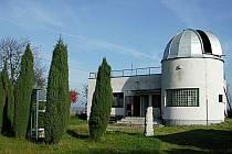 Vlašimská hvězdárna na okraji města.