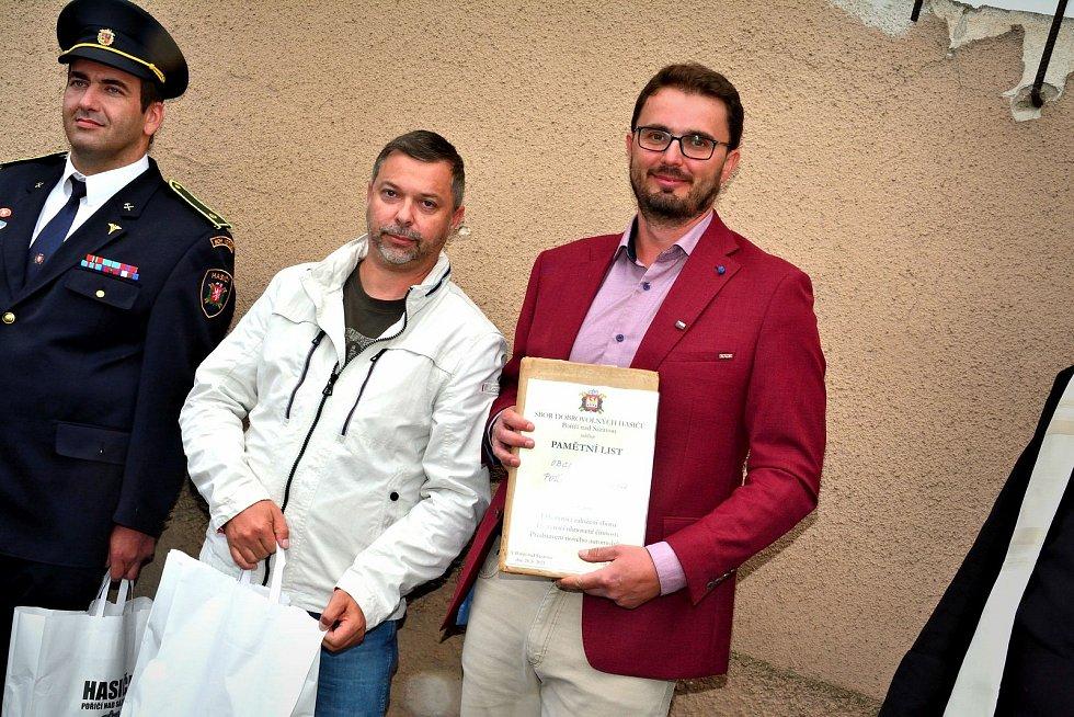 Oslava 135 let SDH Poříčí nad Sázavou.