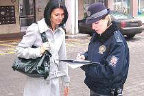 Policejní mluvčí benešovské policie Zuzana Stránská