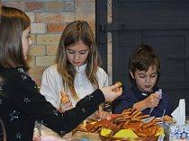 Advent na Františku byla akce Centra sklářského umění, Huť František v Sázavě.