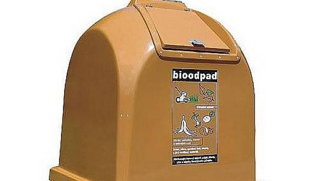 Kontejner na bioodpad.