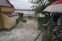 Krizový štáb jednal i kvůli povodni v Bystřici.