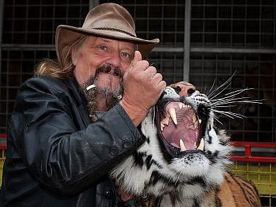 Mezi Jaromírem Joo a tygry panuje vzájemná důvěra, ale i respekt.