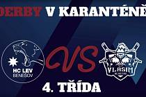 Speciální souboj mezi týmy 4. tříd HC Lev Benešov a HC Rytíři Vlašimi.