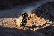 Libor Podmol během úterní deváté etapy Dakaru 2021
