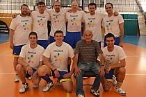 Volejbalisté TJ Sokol Benešov.