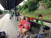 V rámci příměstského tábora v Benešově se děti doslova vyřádily.