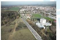 Stav přípravy dálnice D3 a dopňkových staveb na silnici I/3 Mirošovice - Benešov.