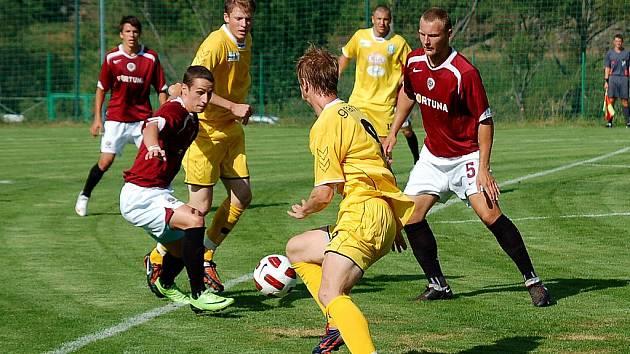 Příprava: Vlašim - Sparta Praha B, 14. července 2010.