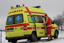 Lékař z vlašimské záchranky pouze úředně konstatoval smrt. Jeho benešovský kolega byl v té chvíli u  nehody mezi Neveklovem a Chvojínkem
