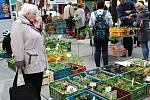 Druhý letošní farmářský trh v Benešově.
