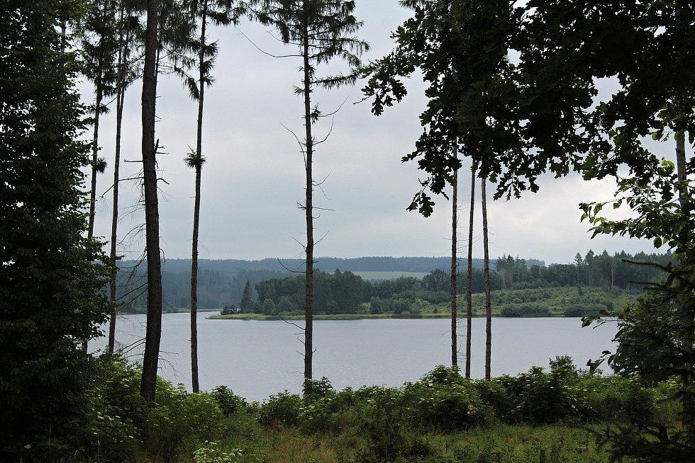 Dolní Kralovice - vodní nádrž Švihov.