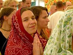 Hnutí Hare Krišna slavilo svátek Dne zjevení Krišny