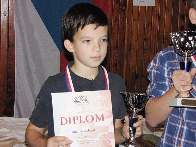 Richard Mládek vybojoval na Mistrovství republiky v Harrachově bronzovou medaili.