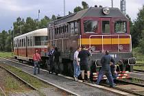 Nostalgický vlak potáhne lokomotiva T 435.003. Ilustr. foto