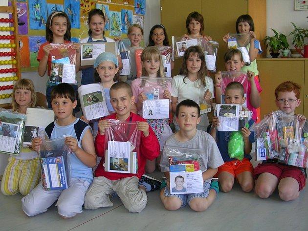 Do akce se zapojily i Základní školy z Trhového Štěpánova, Načeradce a Čechtic.
