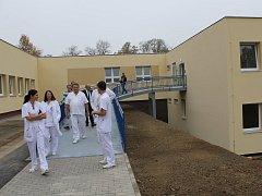 Slavnostní zahájení provozu oddělení následné péče v benešovské nemocnici.