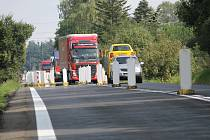 Od čtvrtka 18. srpna pojede po hlavní silnici I/3 u Benešova směr od Tábora do Prahy.