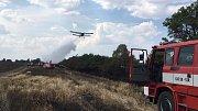 Ve Středočeském kraji za uplynulých 14 dní hasiči vyjížděli s celkem 347 vozidly k 69 požárům v přírodním prostředí.
