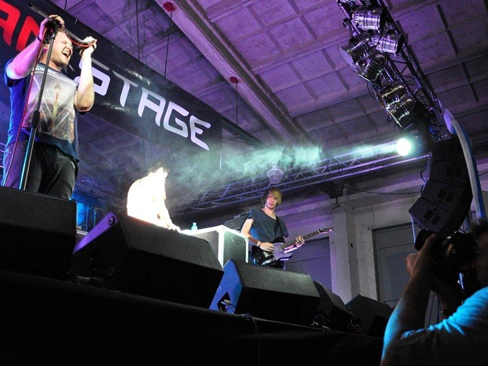 Tha Linings při Sázava festu 2012.