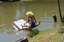 Úkoly neckyády na rybníku Mirmil nebyly vůbec snadné.