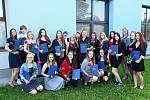 Ze slavnostního předávání maturitního vysvědčení absolventům Střední odborné školy a Střední zdravotnické školy v Benešově.