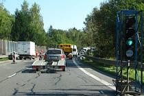 Částečná uzavírka  silnice I/3 potrvá do 15. října.