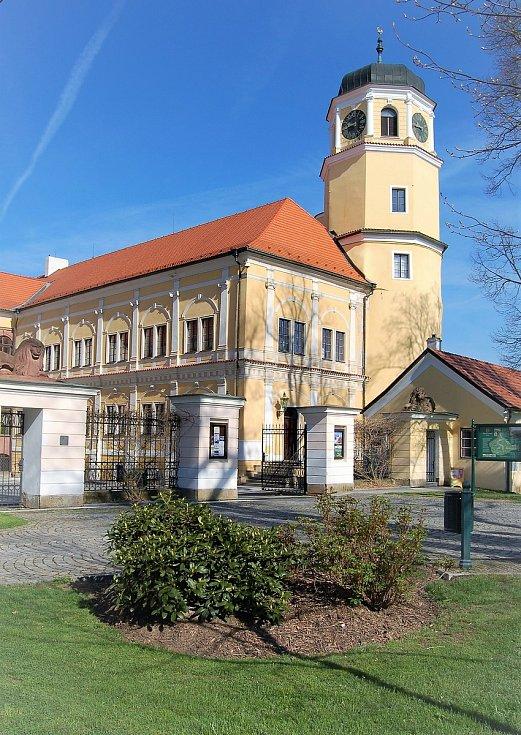 Vlašimský zámek.