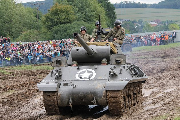 Patnáctý tankový den ve VTM Lešan se konal v sobotu 2. září.