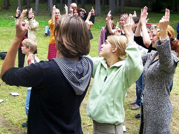 Workshop znakového jazyka v Odlochovicích