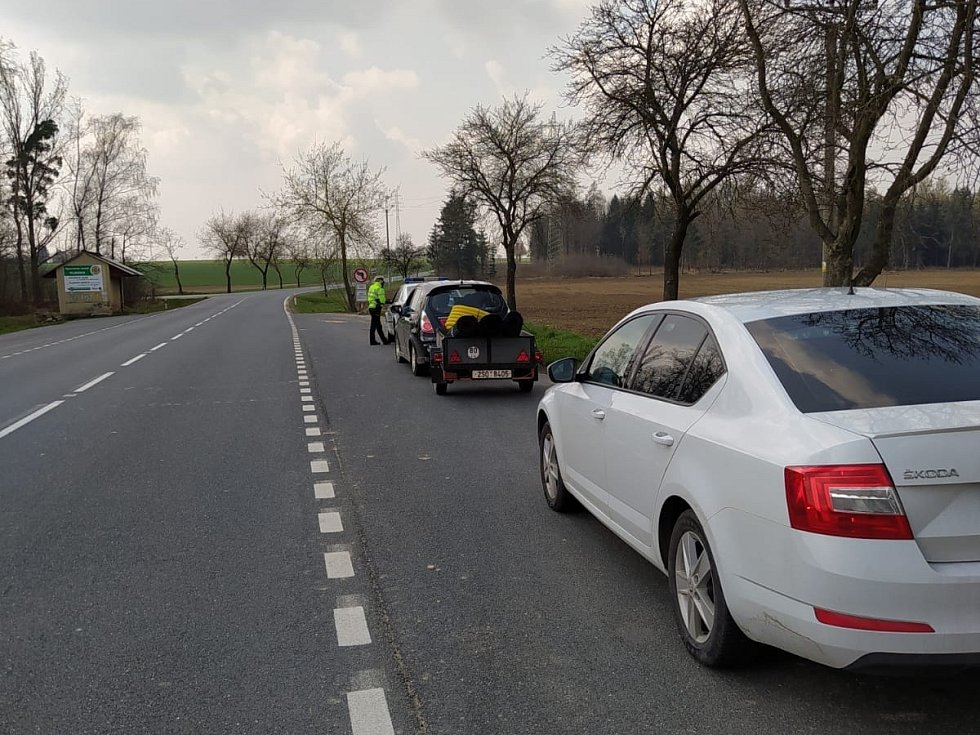 Z dopravně-bezpečnostní akce Speed Marathon.