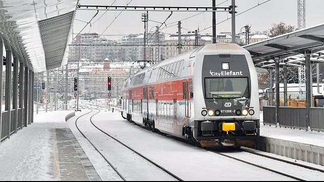 Vlaková jednotka CityElefant.