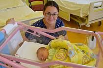 Anežka Kadeřábková se manželům Žanetě a Miroslavovi narodila v benešovské nemocnici 25. června 2020 v 16.35 hodin, vážila 3470 gramů. Doma v Benešově na ni čekala sestřička Eliška (2).