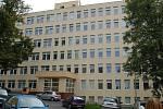 Pavilon interny v benešovské nemocnici.