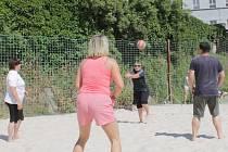 Sportovní den Střední odborné školy Benešov.