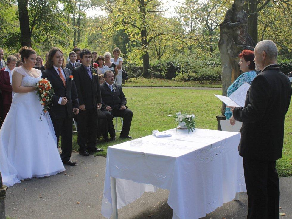 Svatby se konají také na Konopišti.