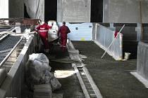 Rekonstrukce krytého plaveckého bazénu v Benešově.