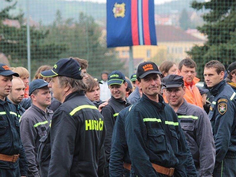 Hasičská okrsková soutěž Votice - Jankov.