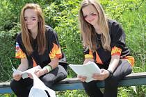 Mladší následovnice střezimířských hasiček  soutěží v krajském kole hry Plamen o víkendu 19. až 20. června v Kolíně.