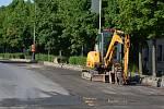 Opravy silnice - ilustrační foto.