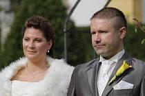 Svatba Denisy Hejcmanové a Radka Bradáče.