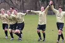 Divišovští fotbalisté se v okresním přeboru radovali z výhry 2:0.