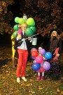 MC Hvězdička zorganizovalo Halloweenský lampionový průvod.