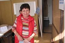 Volby v benešovském 15. okrsku v MŠ Longenova.