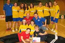 Benešovská děvčata vybojovala na mistrovství České republiky stříbrné medaile